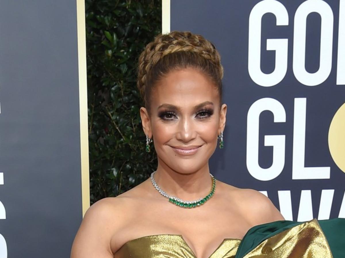 Modowa wpadka Jennifer Lopez na Złotych Globach 2020
