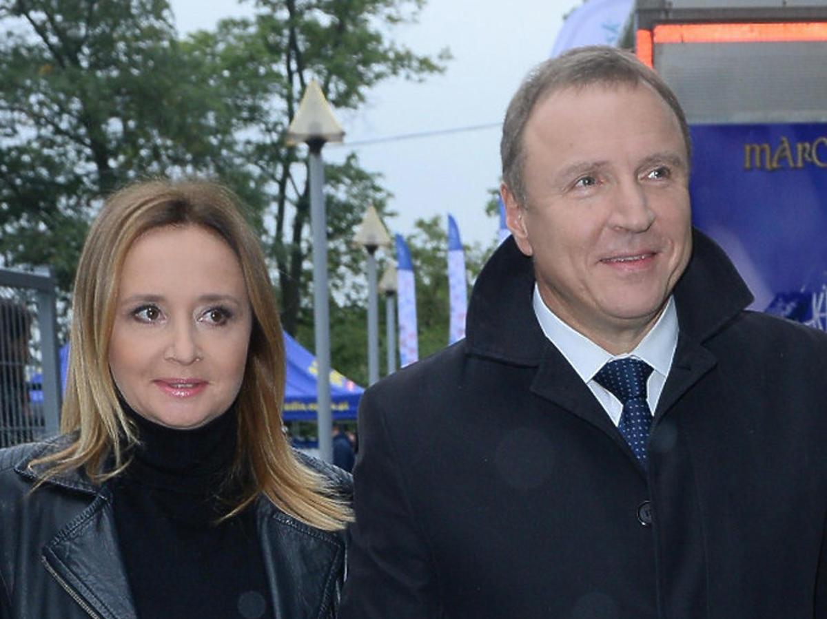 Monika Kurska i Jacek Kurski