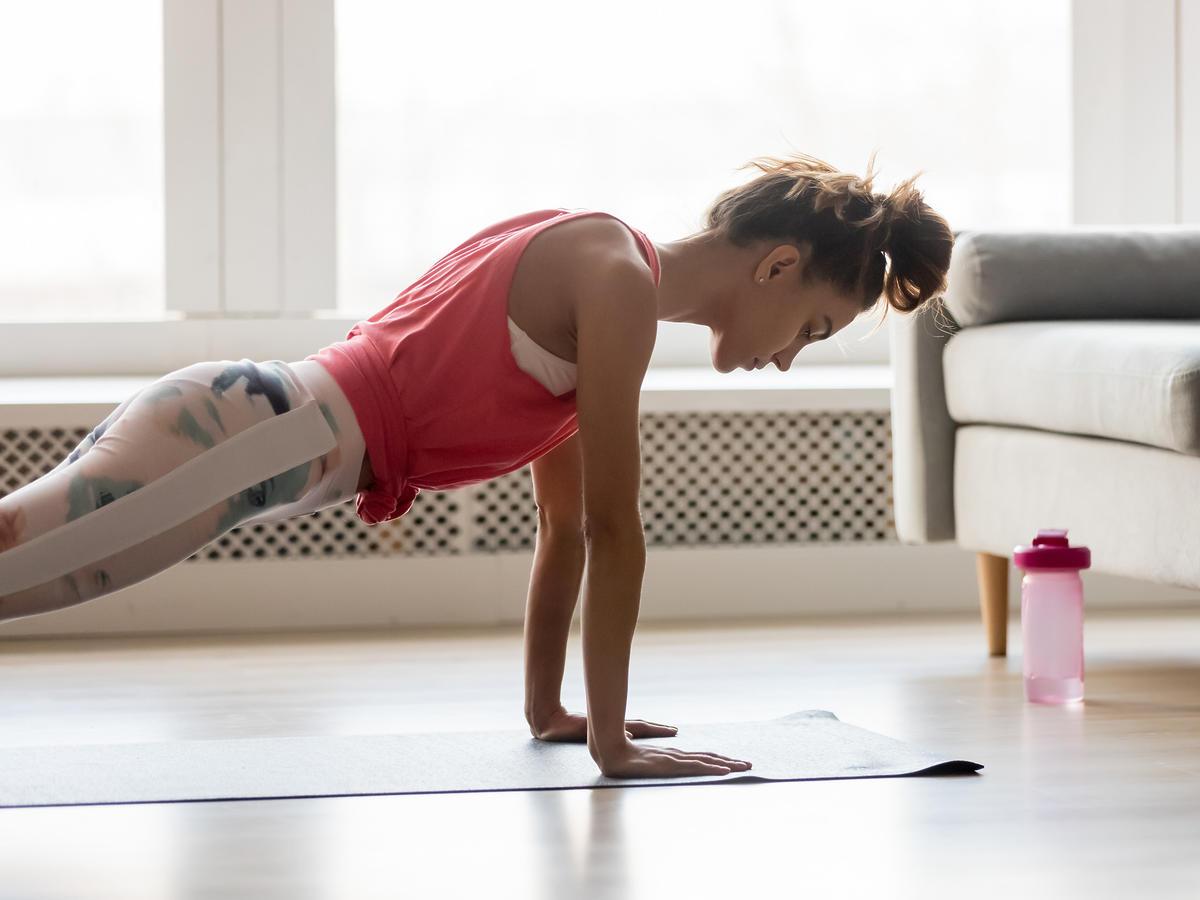 motywacja do ćwiczeń trening w domu