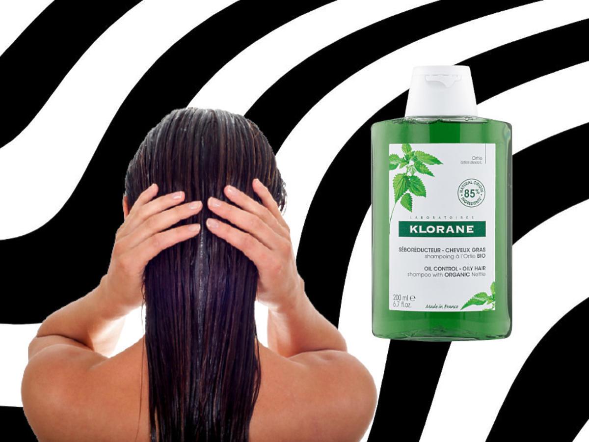 mycie włosów - szampon pokrzywowy