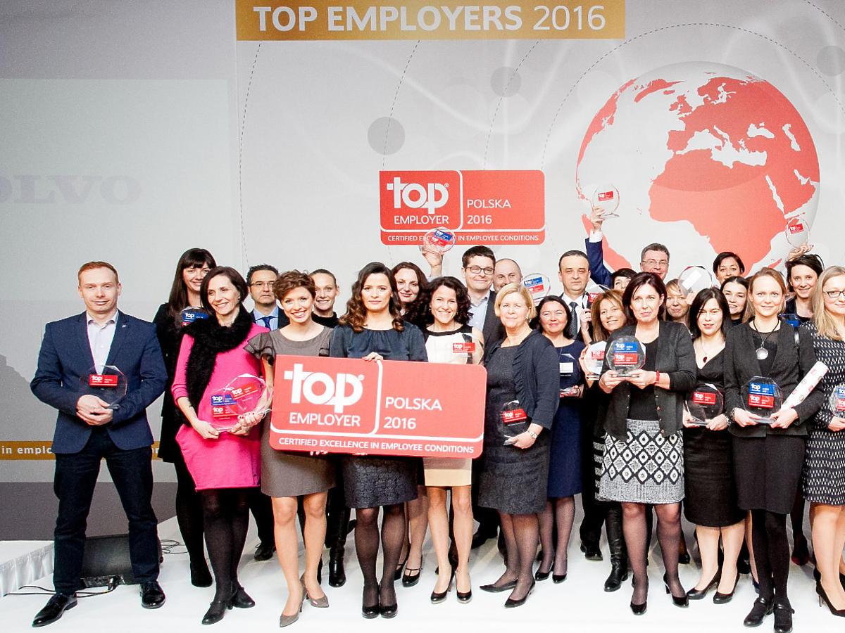 nagrody Top Employer Europe 2016