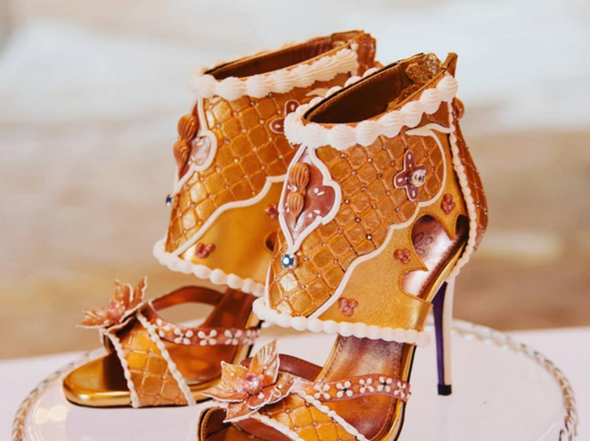 najdroższe buty świata złote szpilki