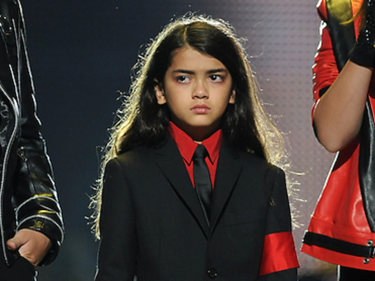 Najmłodszy syn Michaela Jacksona - Blanket Jackson