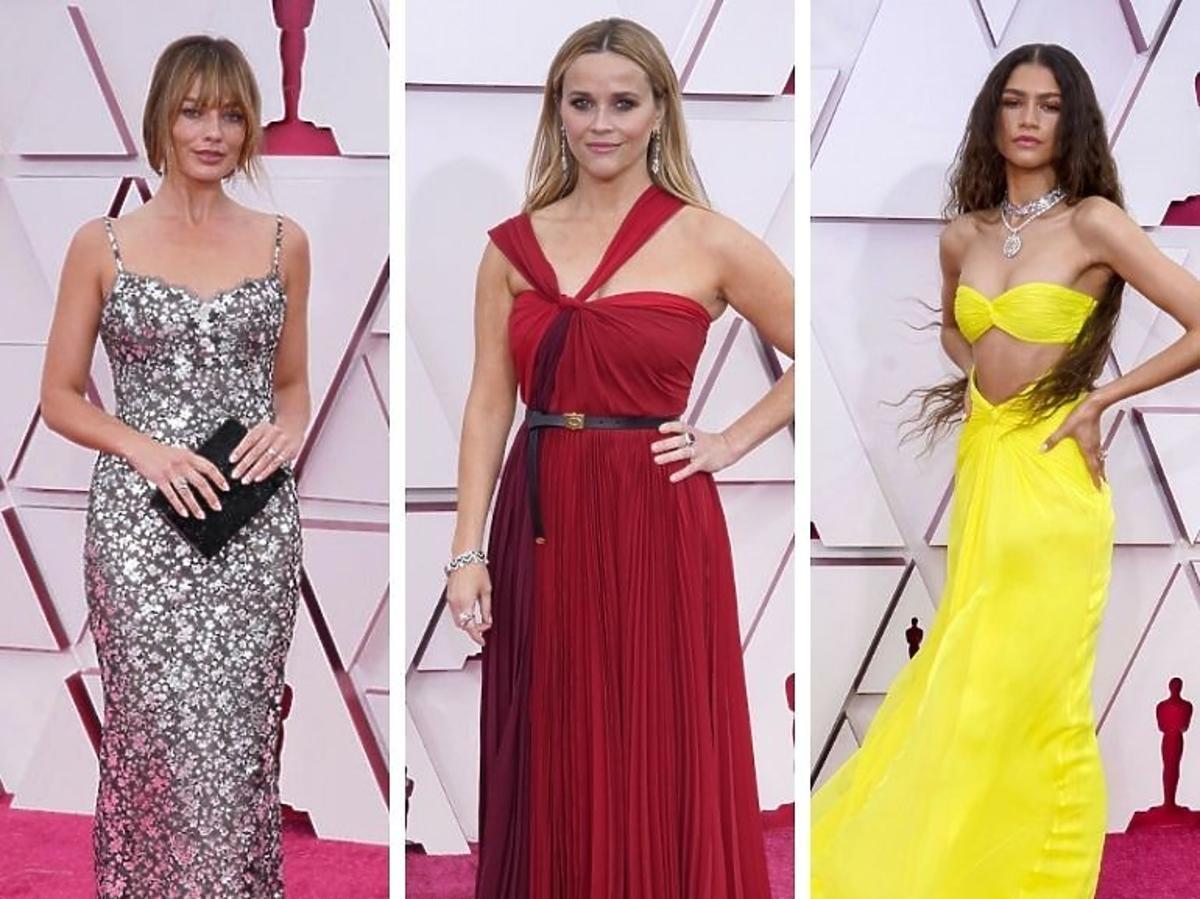 Najpiękniejsze suknie Oscary 2021