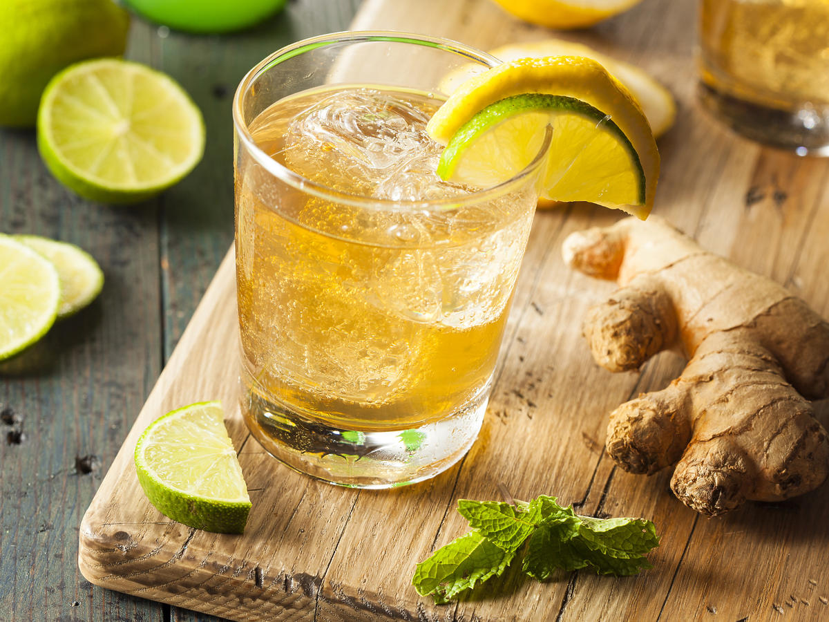 napój z imbiru na odchudzanie