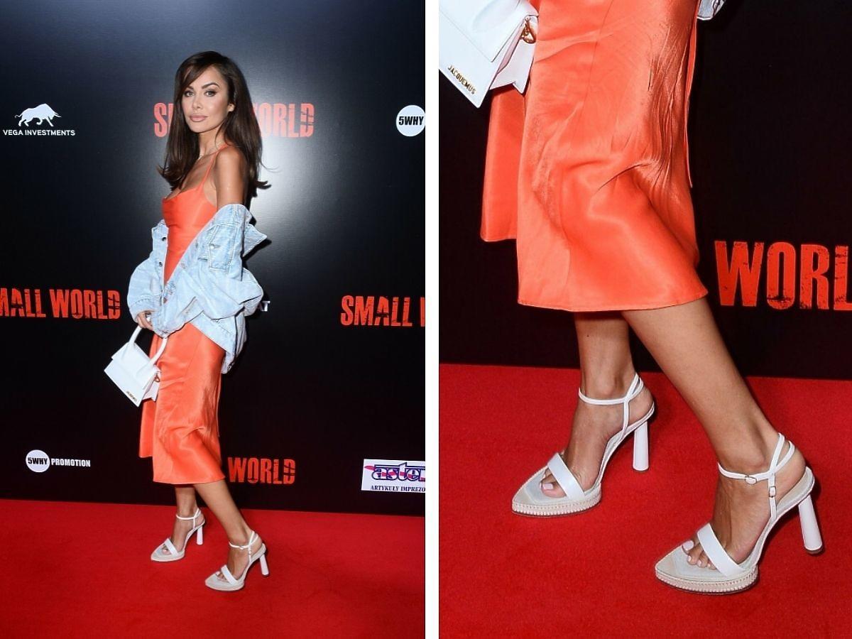 Natalia Siwiec na premierze Small World miała za duże buty?
