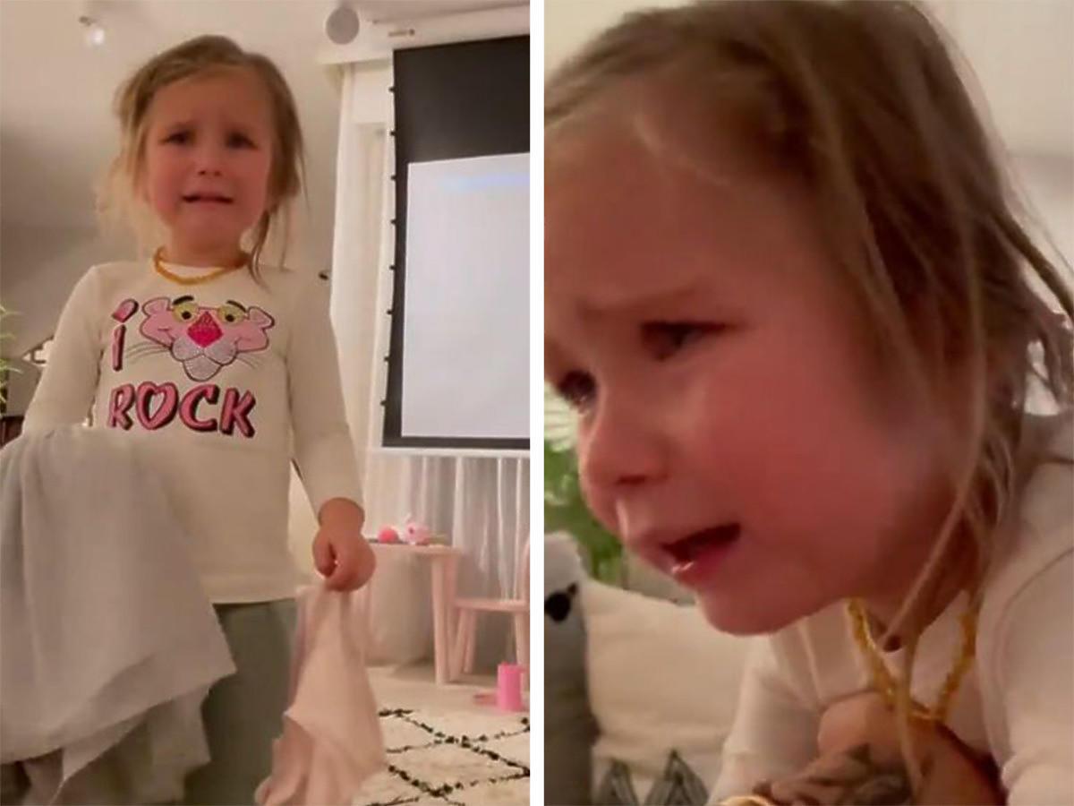 Natalia Siwiec pokazała w Internecie zapłakaną córkę