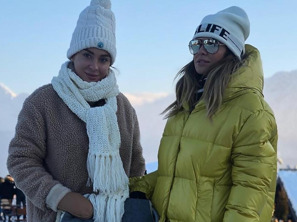 Natalia Siwiec z siostrą