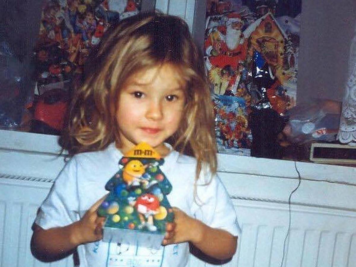 Natalia Szroeder jako dziecko