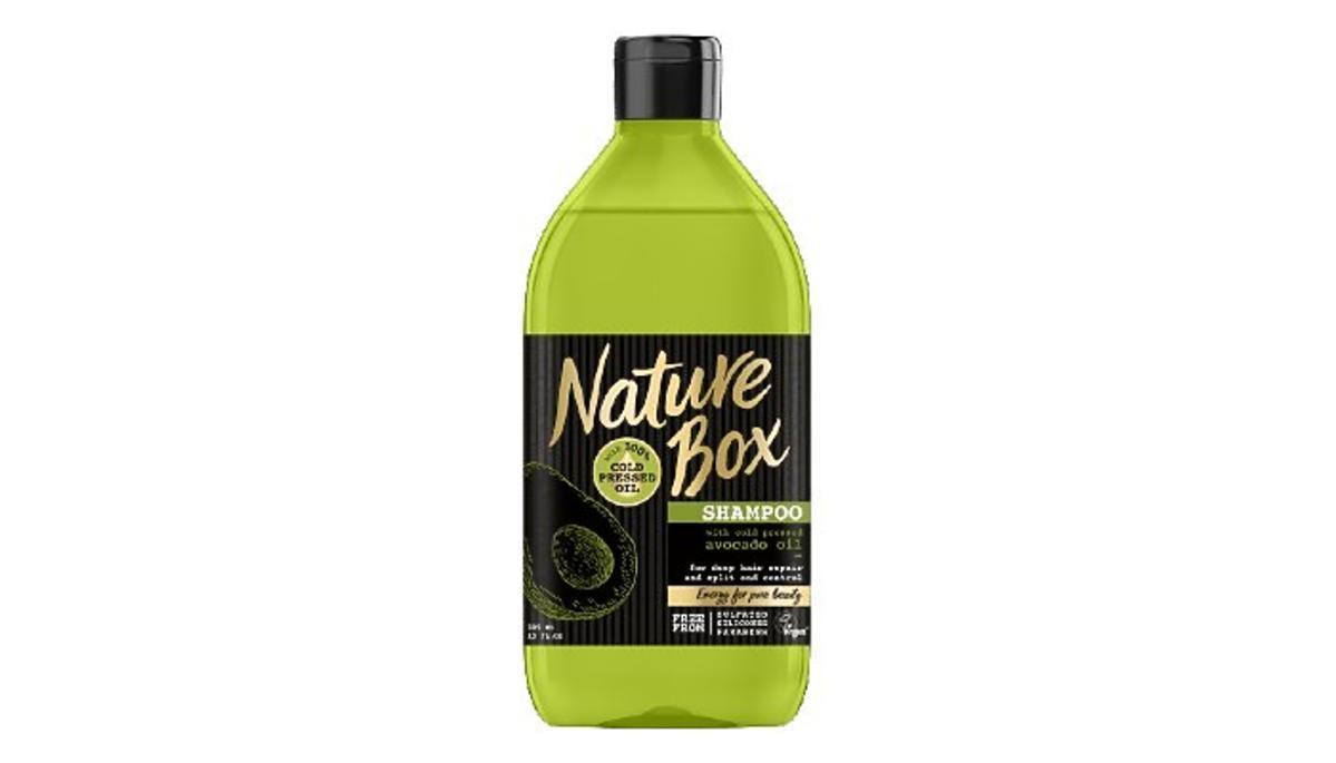 Nature Box, szampon z olejem z awokado z gazetki Rossmanna