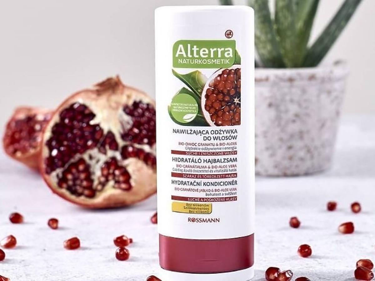 Nawilżająca odżywka do włosów Alterra