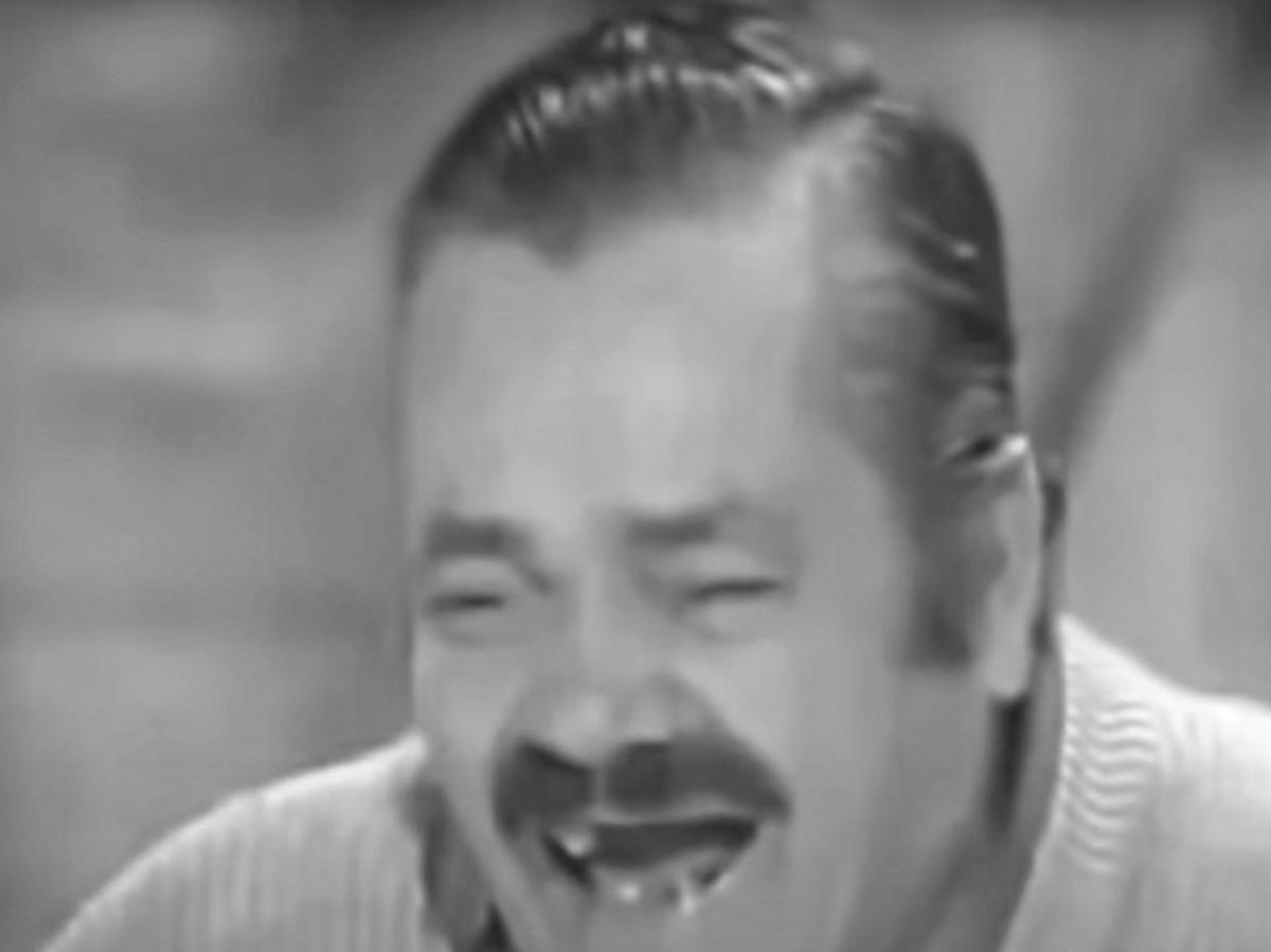 """Nie żyje Juan Joya Borja """"El Risitas"""" (""""Chichot""""), bohater memów"""