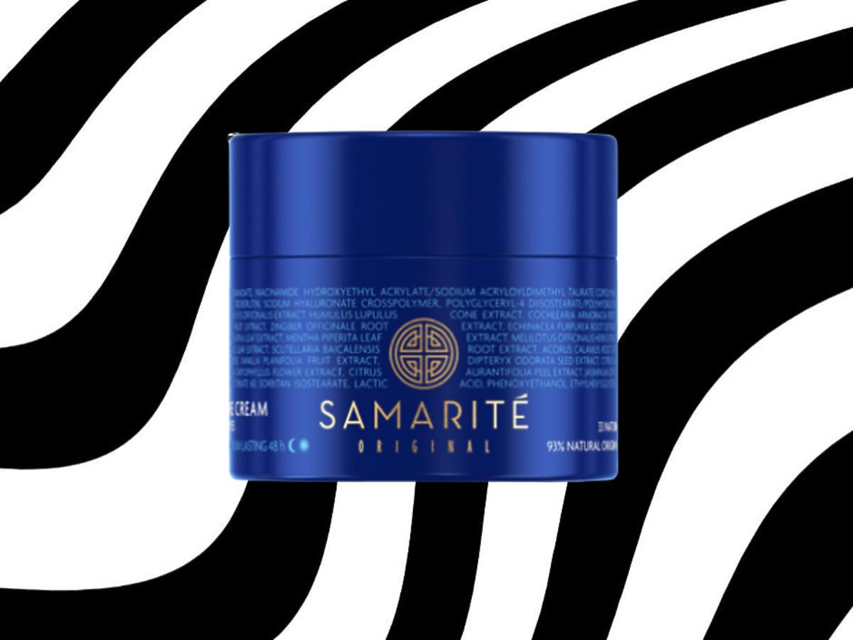 niebieski krem Samarite