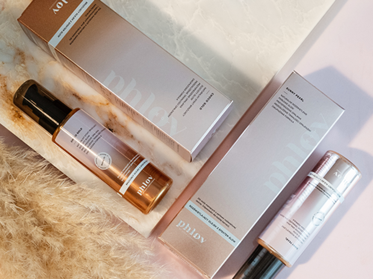 Nowe kosmetyki z linii GLOW Phlov by Anna Lewandowska