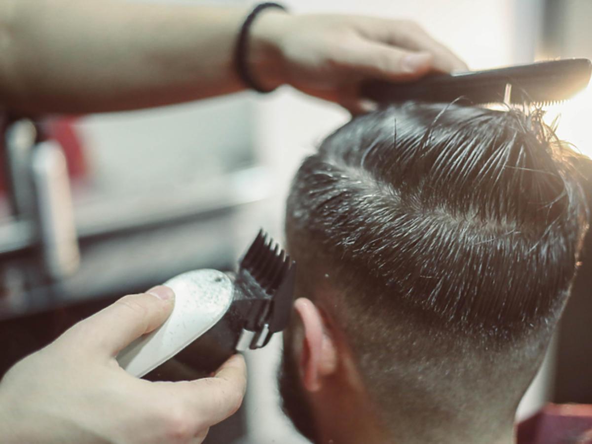 Obcinanie męskich włosów