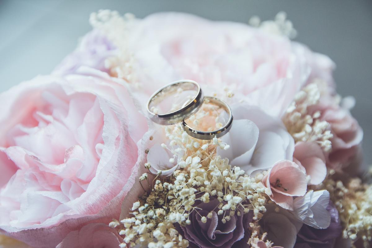 obrączki - wesele