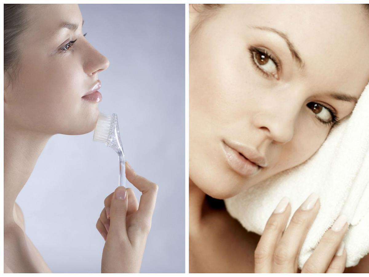 oczyszczanie skóry