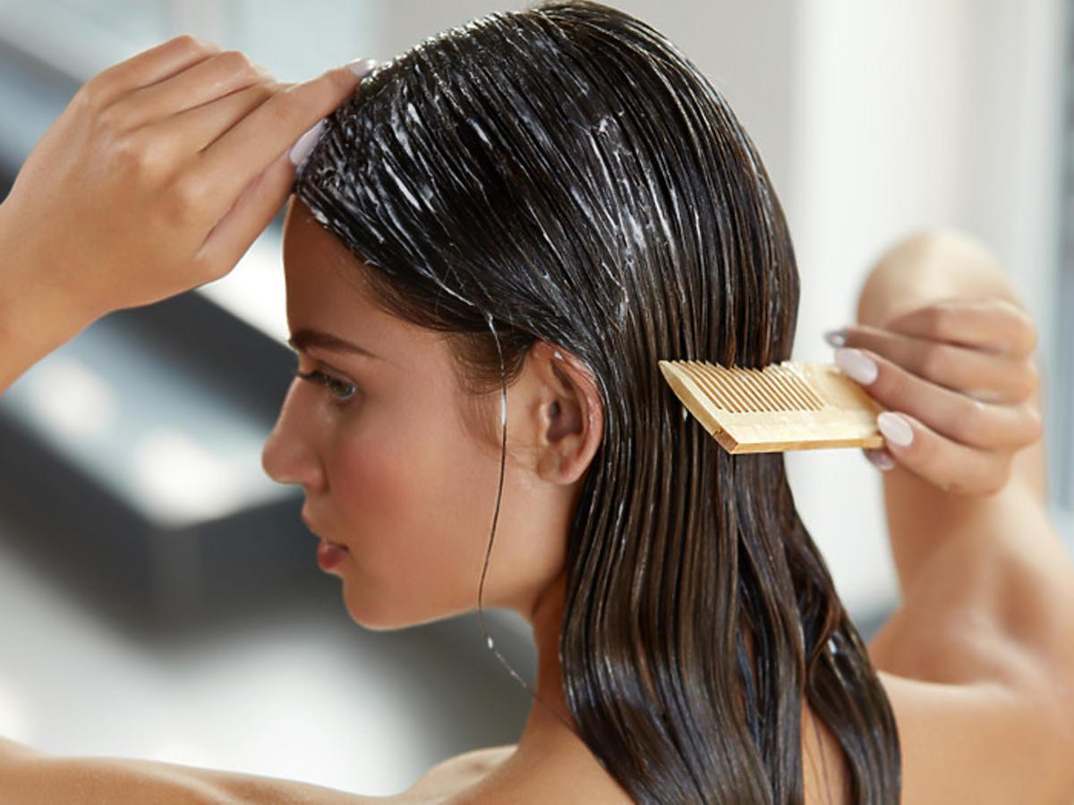 odżywka dla włosów przetłuszczających się