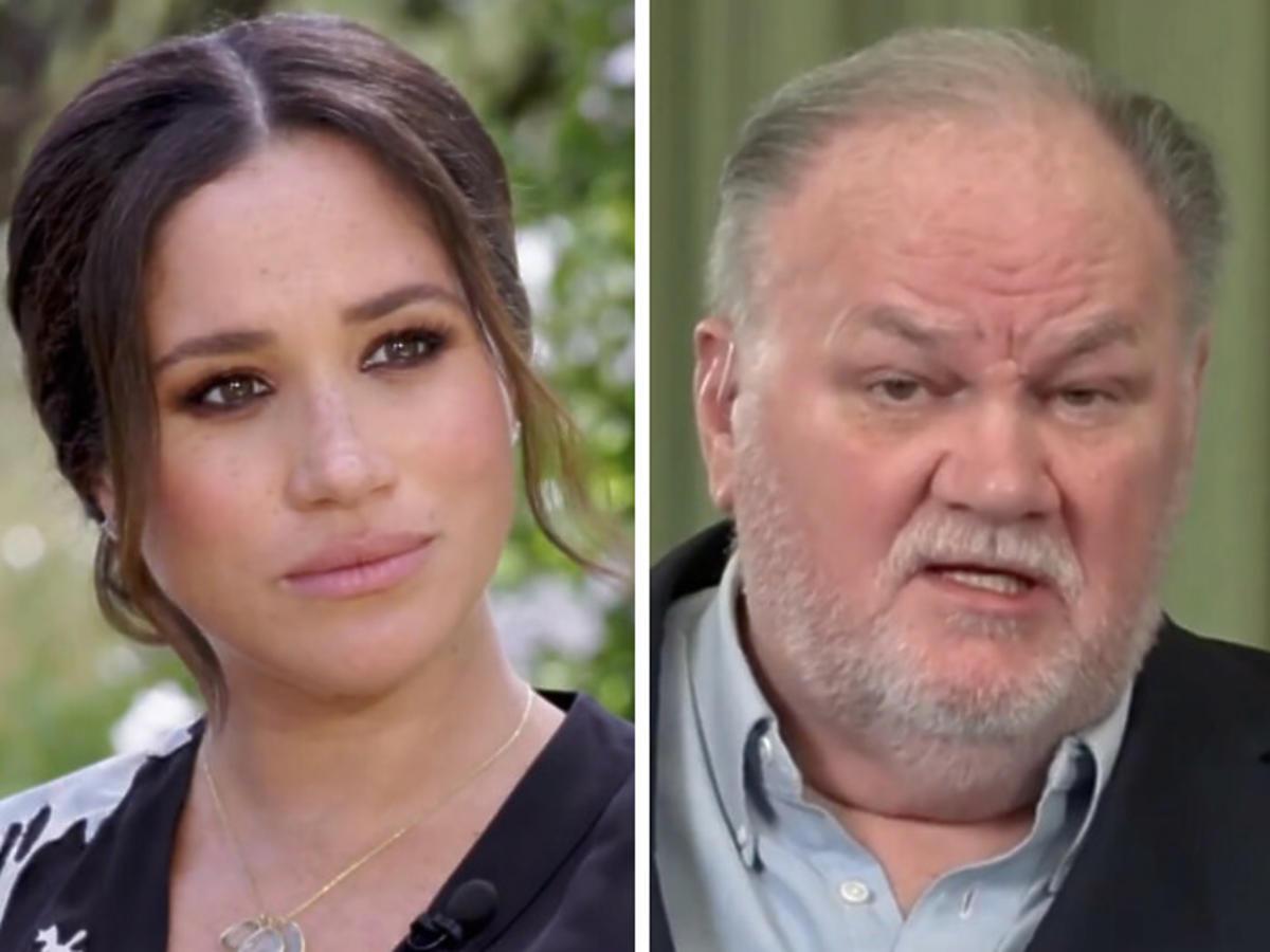 Ojciec Meghan Markle o jej wywiadzie u Oprah Winfrey: porównał Harry'ego do Hitlera