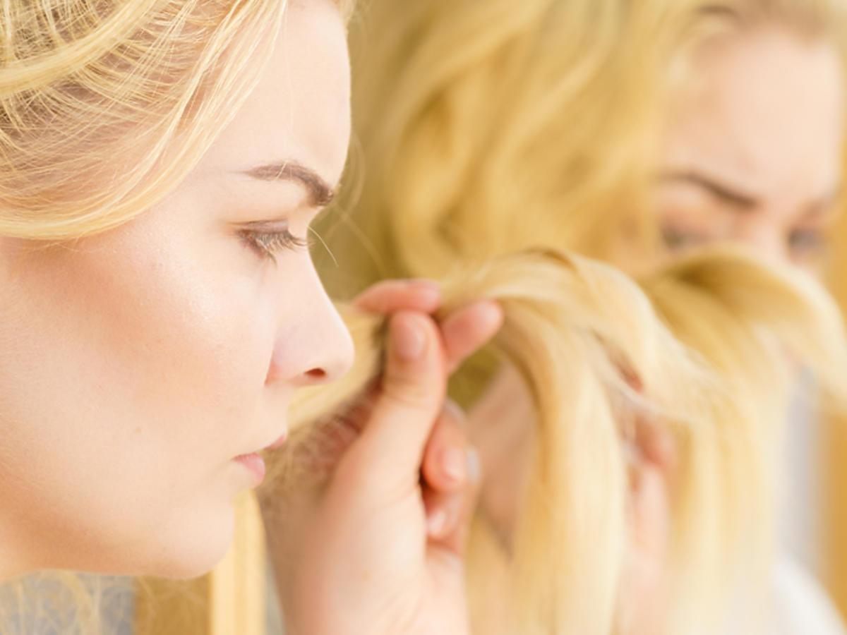 olej kokosowy na włosy puszenie się suche włosy rozdwajające się końcówki olejowanie włosów