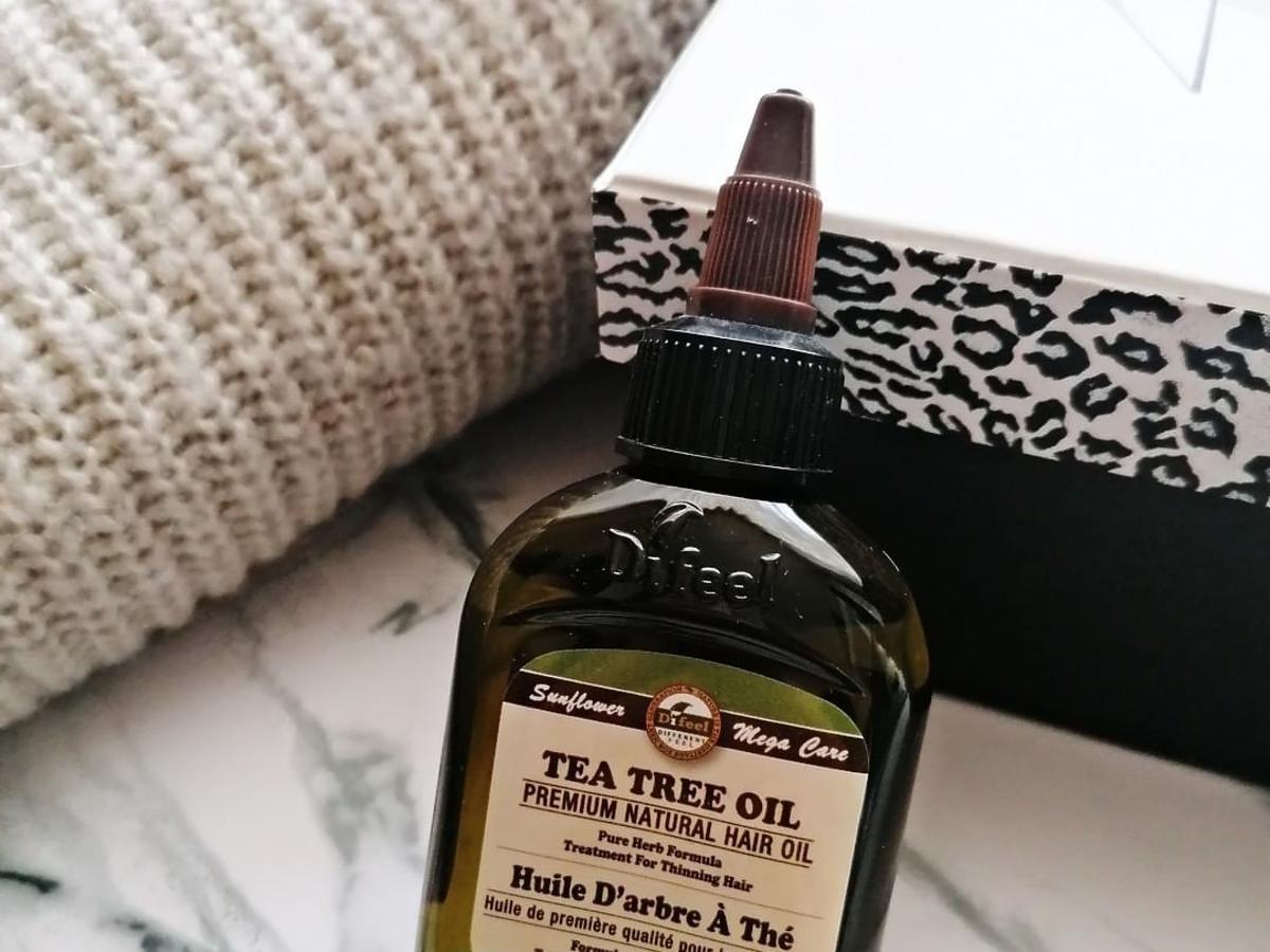 olejek z drzewa herbacianego na wypadanie włosów Difeel