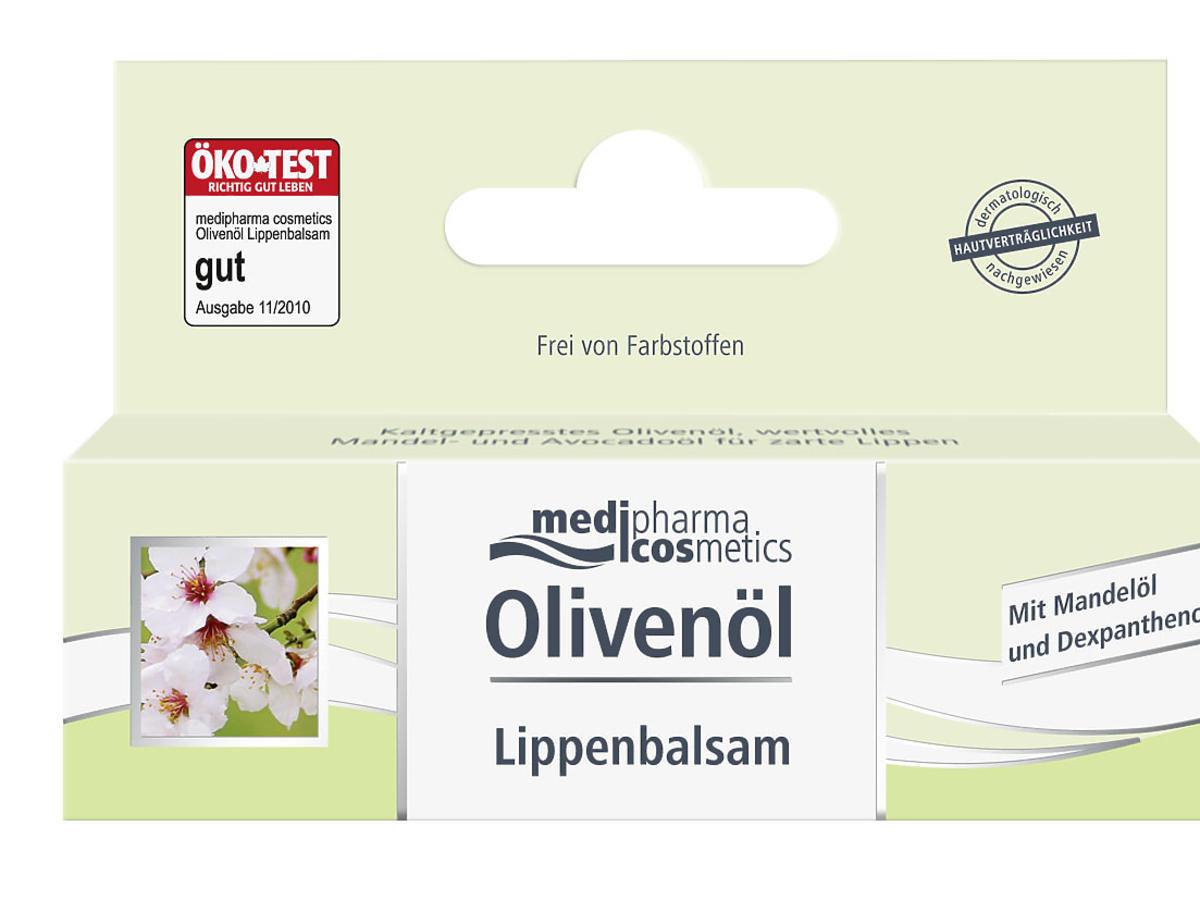 Olivenöl balsam do ust