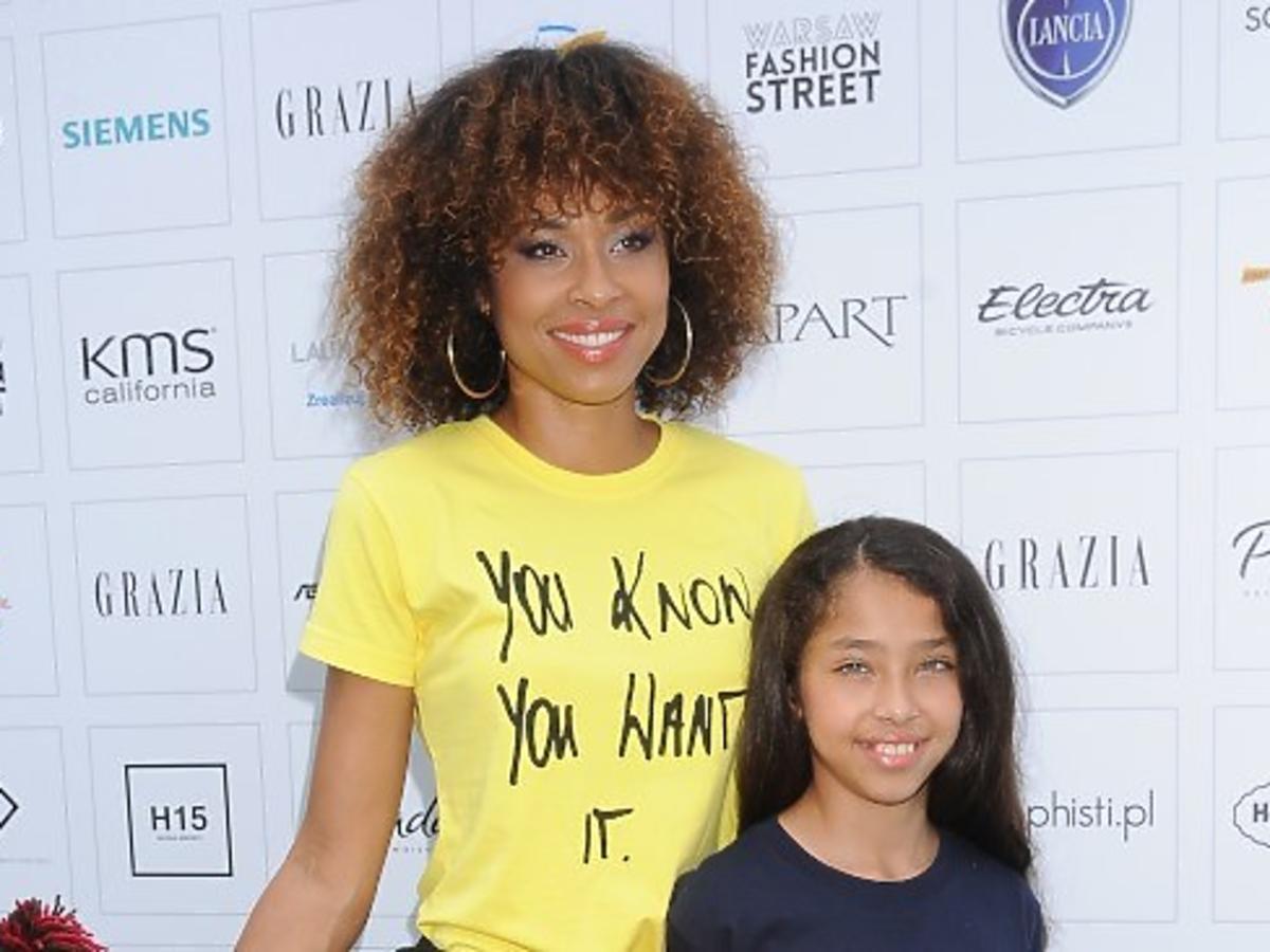 omena mensah z córką Vanessa