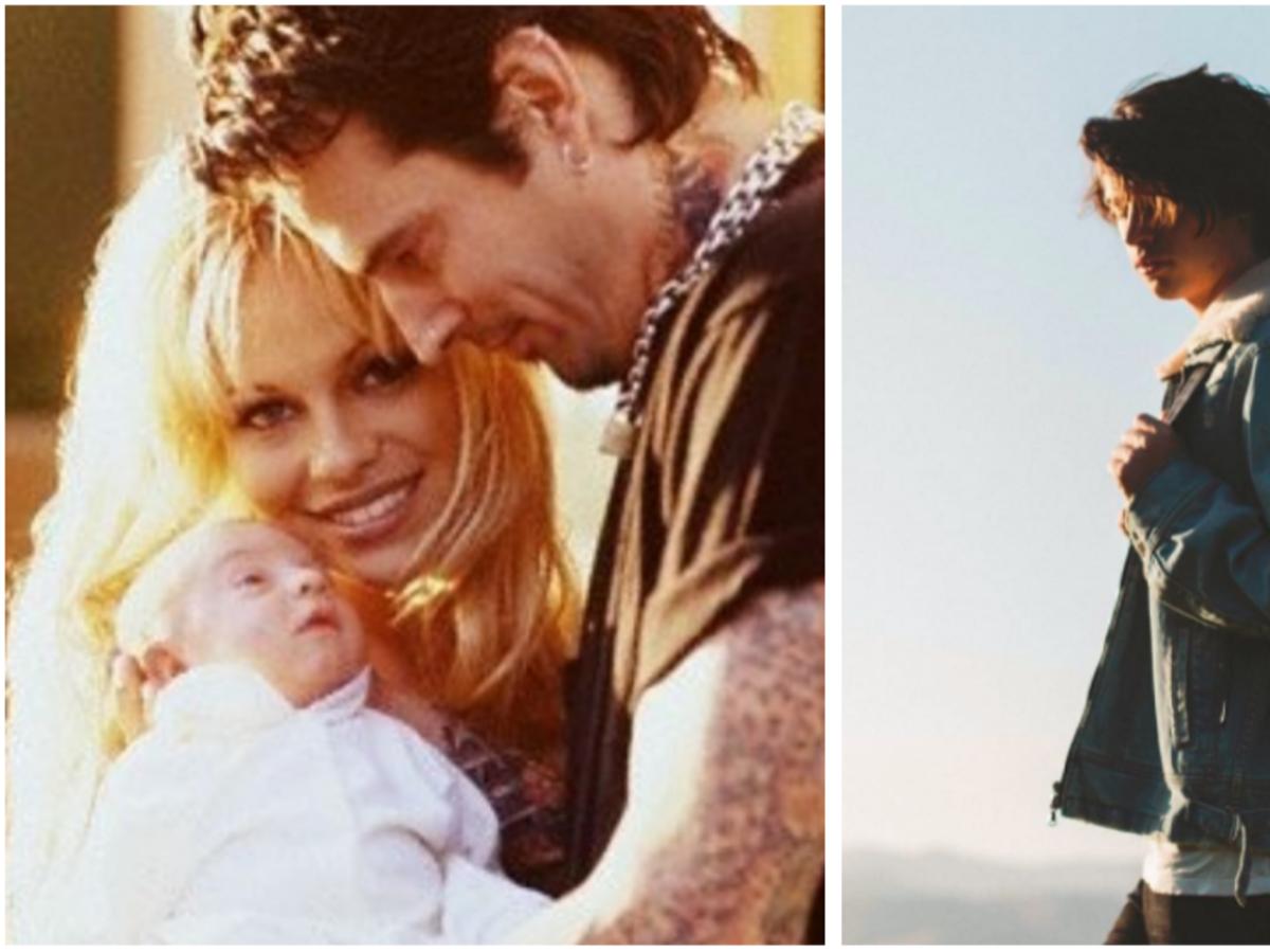 Pamela Anderson Tommy Lee i Dylan Jagger Lee