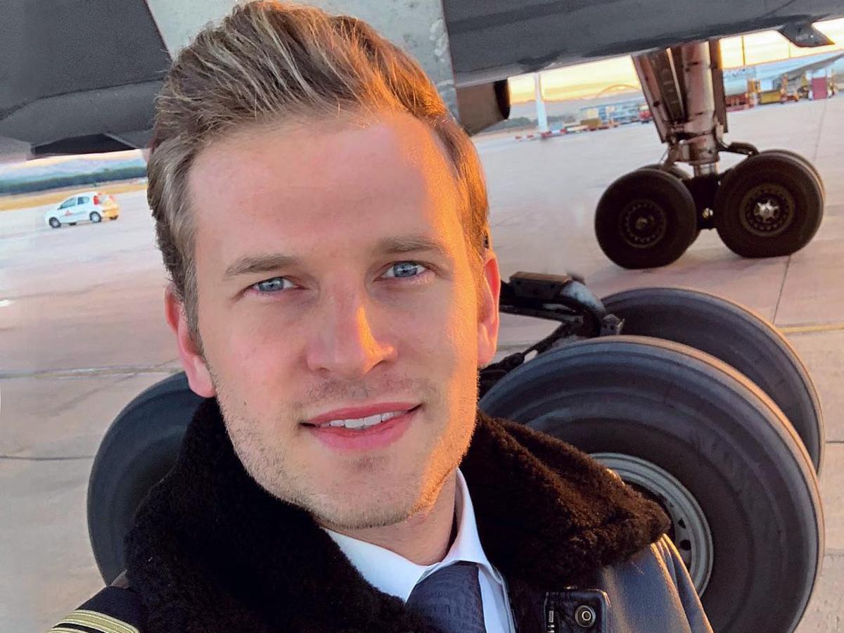 Patrick Biedenkapp – najseksowniejszy pilot świata