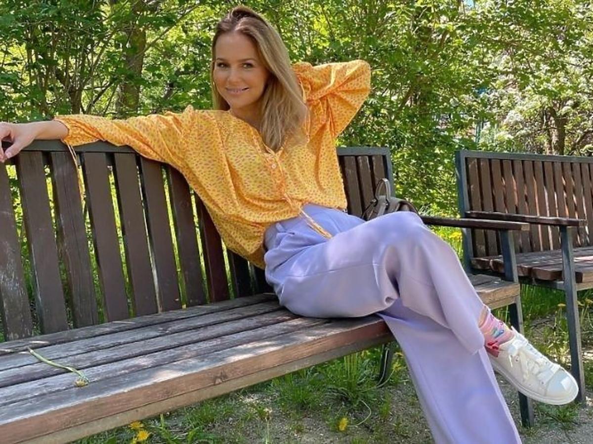 Paulina Sykut-Jeżyna w sneakersach na jesień 2021