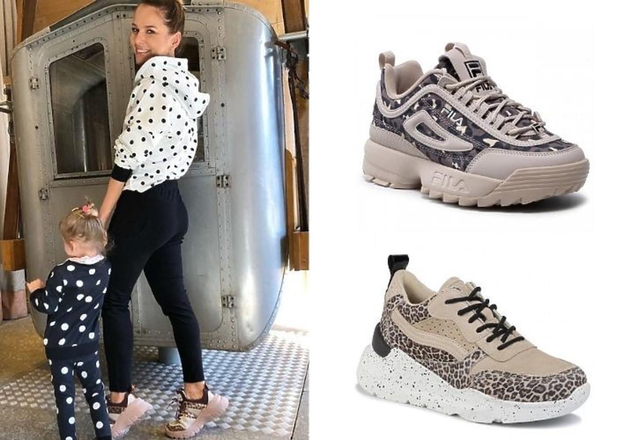 Paulina Sykut-Jeżyna w sneakersach w panterkę
