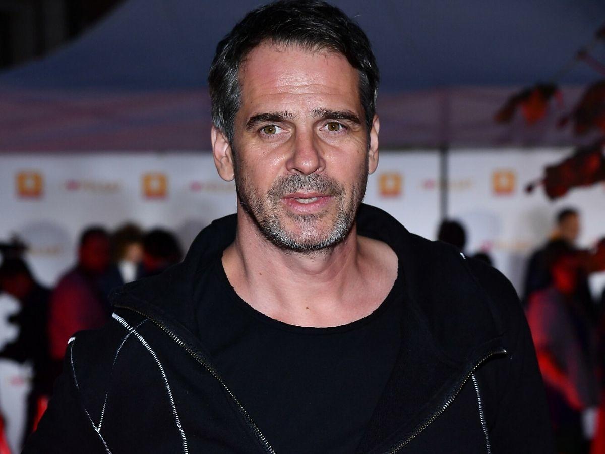 Paweł Deląg w czarnej koszulce