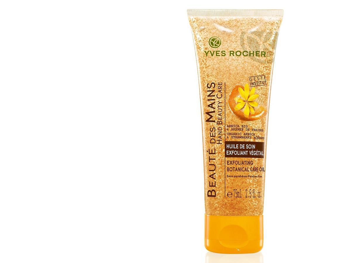 Peelingujący olejek do dłoni Yves Rocher