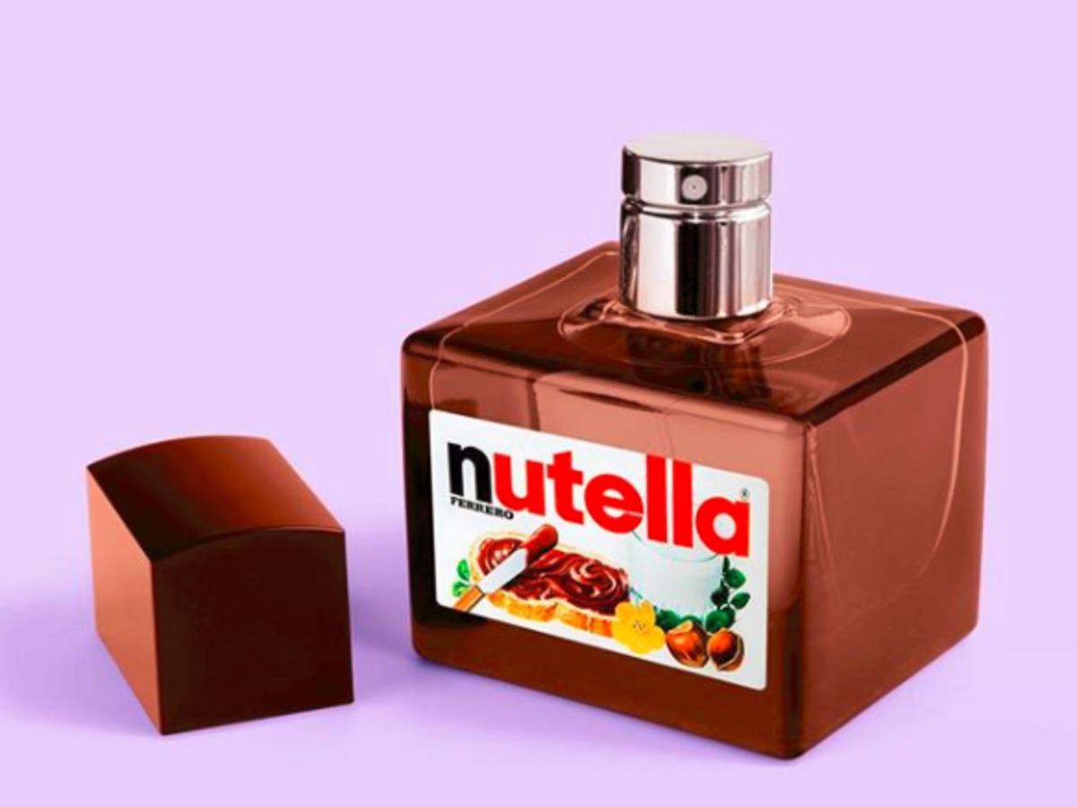 perfumy o zapachu nutelli