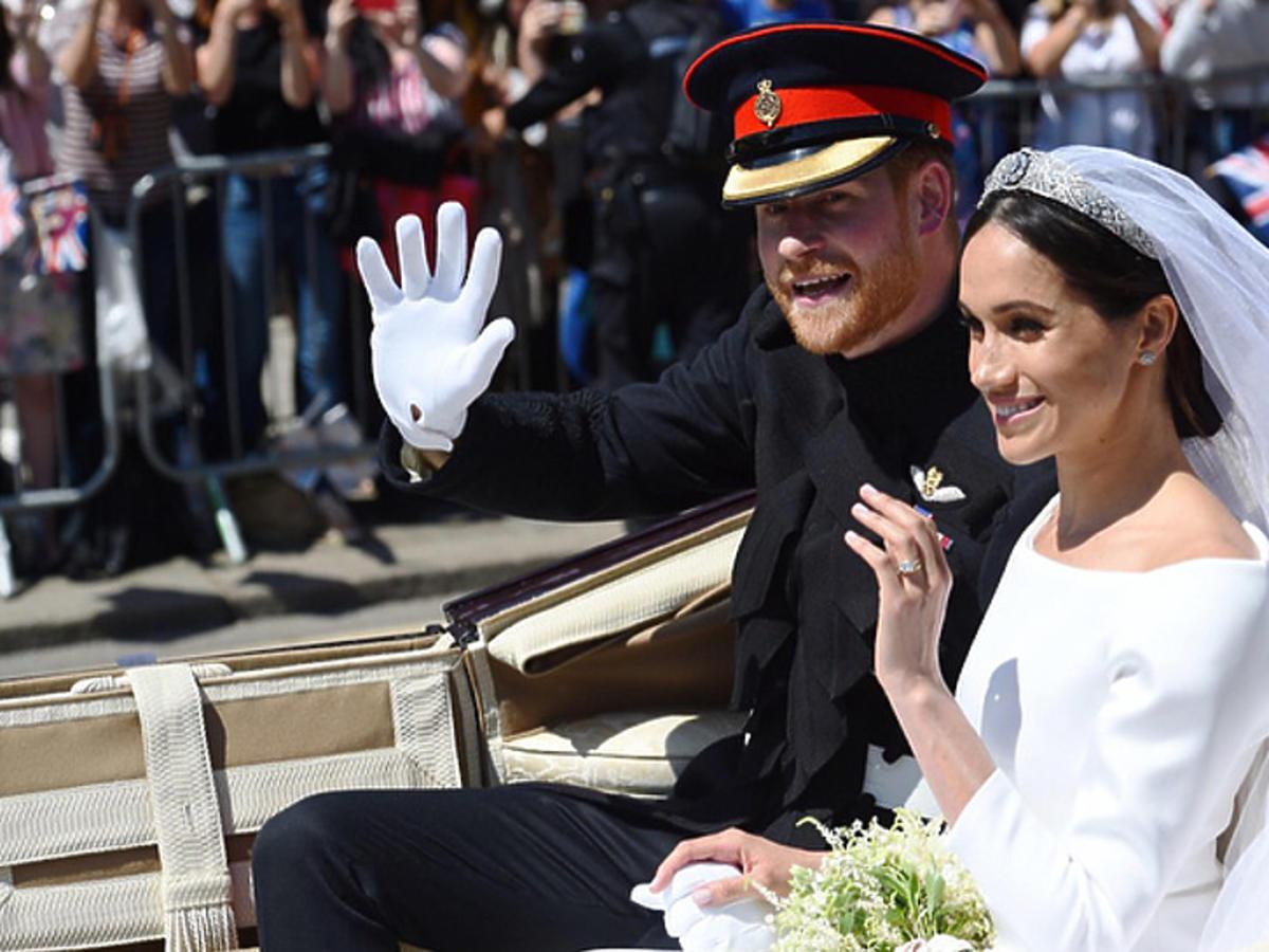 Pierwsza rocznica ślubu Meghan Markle i księcia Harry'ego
