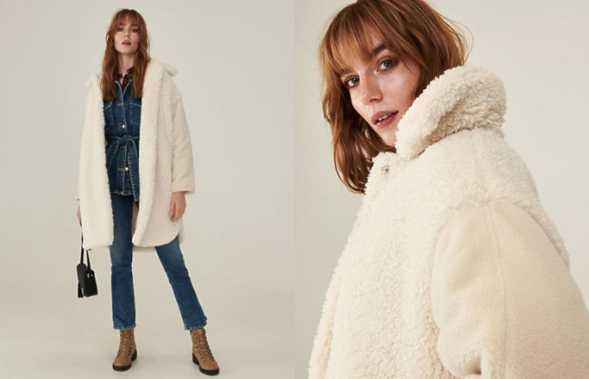 płaszcz na jesień z Sinsay