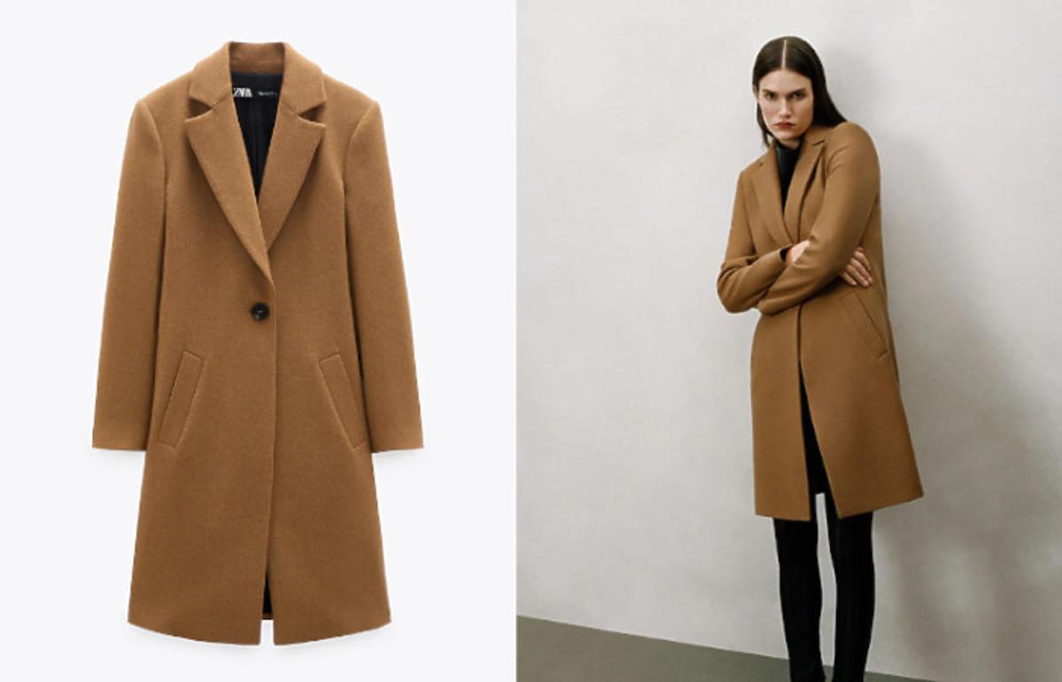 Płaszcz na jesień z Zary