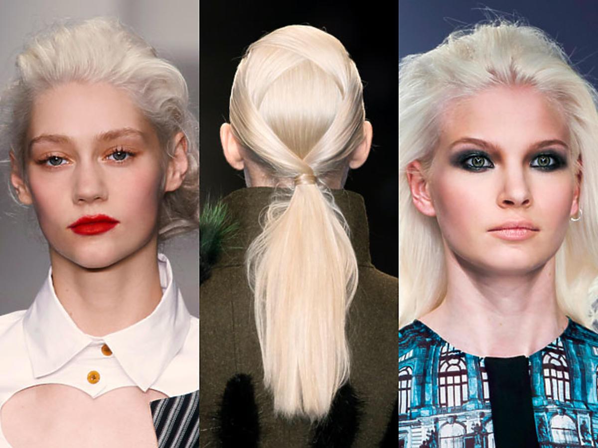 Platynowy blond na jesień 2014
