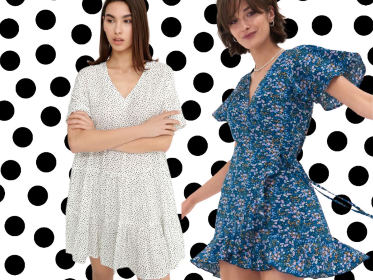 Plażowe sukienki z sieciówek  na lato 2021