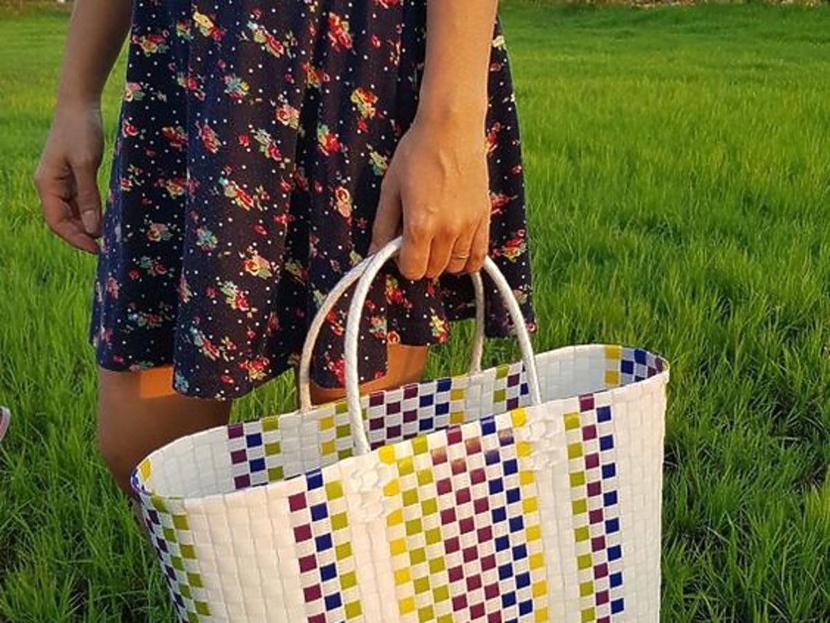 plecione torebki z lidla