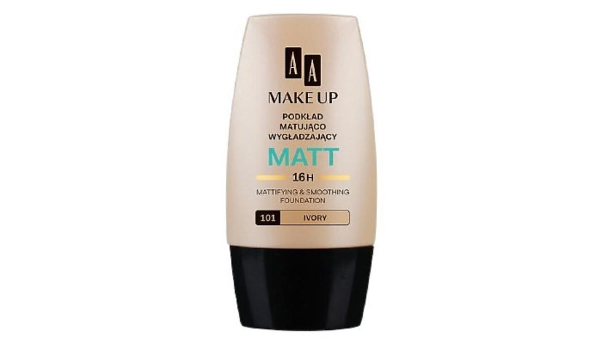 podkład Matt, matująco - wygładzający od AA, Make Up