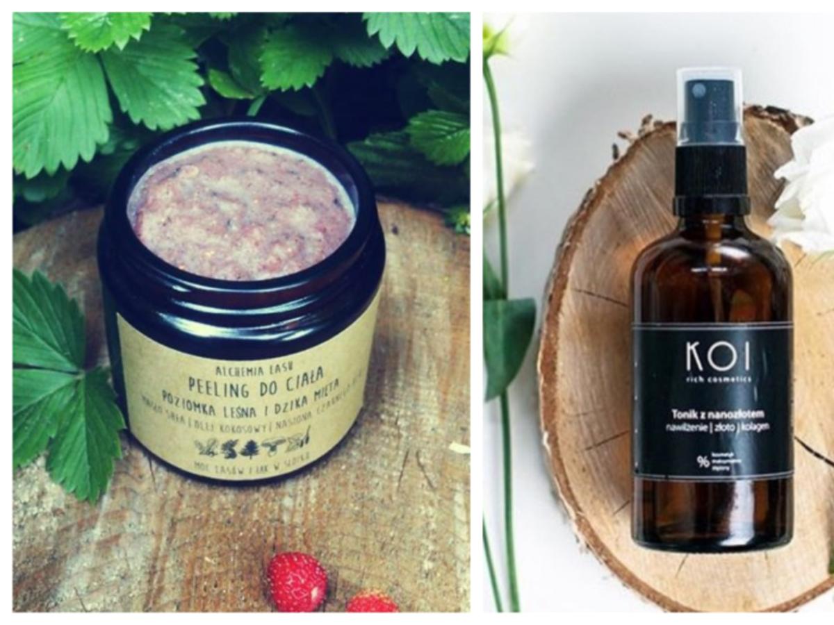 polskie kosmetyki naturalne alchemia lasu koi cosmetics