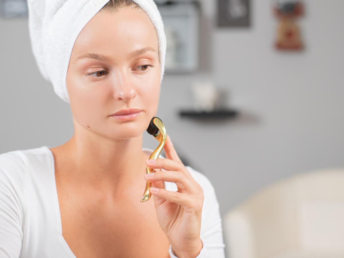 profesjonalne zabiegi w domu zagrożenia kwasy dermaroller dermapen peeling kawitacyjny