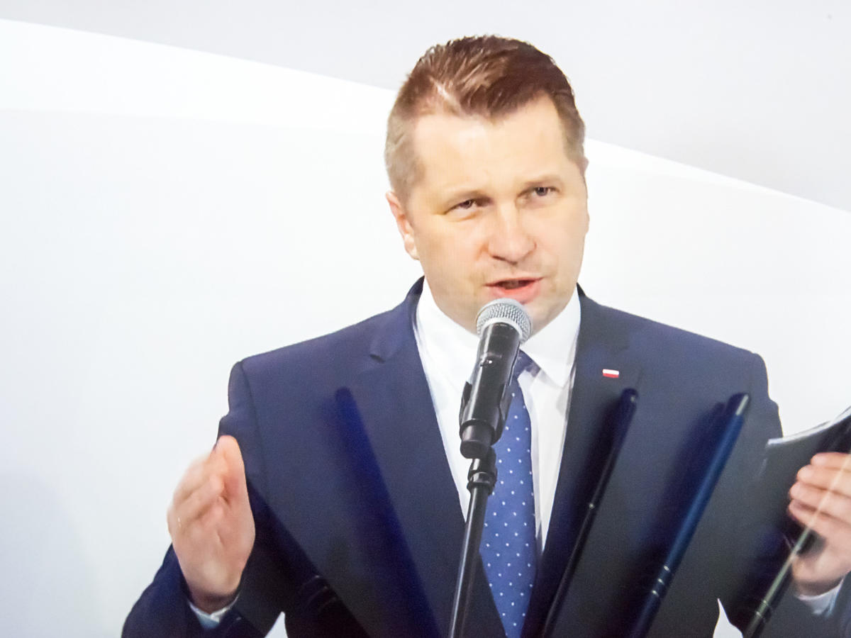 Przemysław Czarnek - nauka zdalna