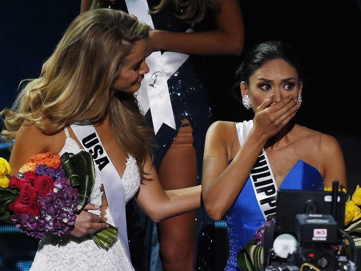 Przez pomyłkę ogłoszono złą Miss Universe 2015
