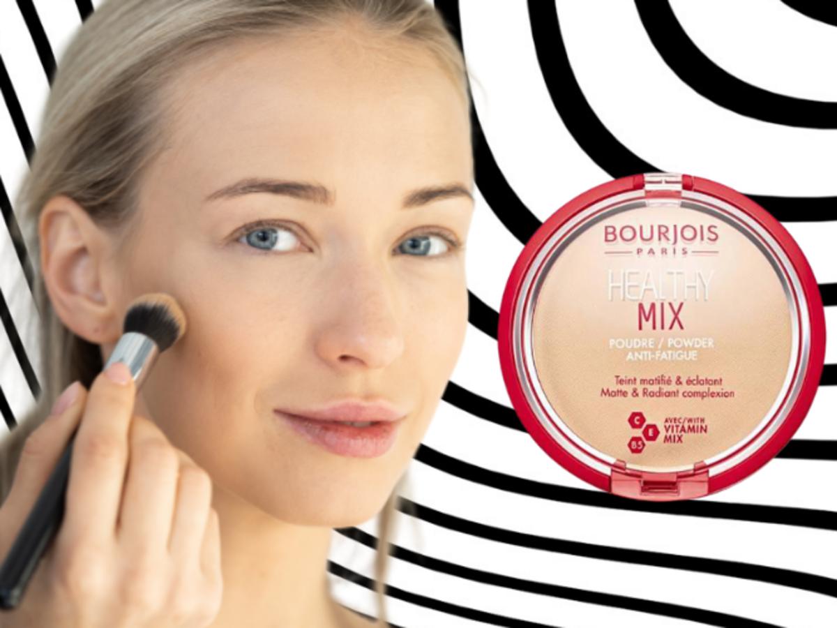 Puder do twarzy z witaminami od Bourjois, Healthy Mix