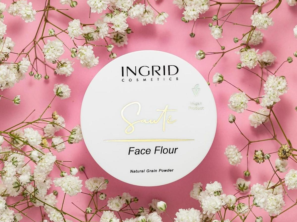 puder Ingrid Face Flour Natural Grain