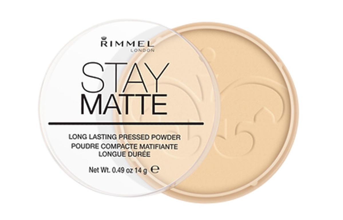 puder matujący Rimmel Stay Matte działanie opinie promocja