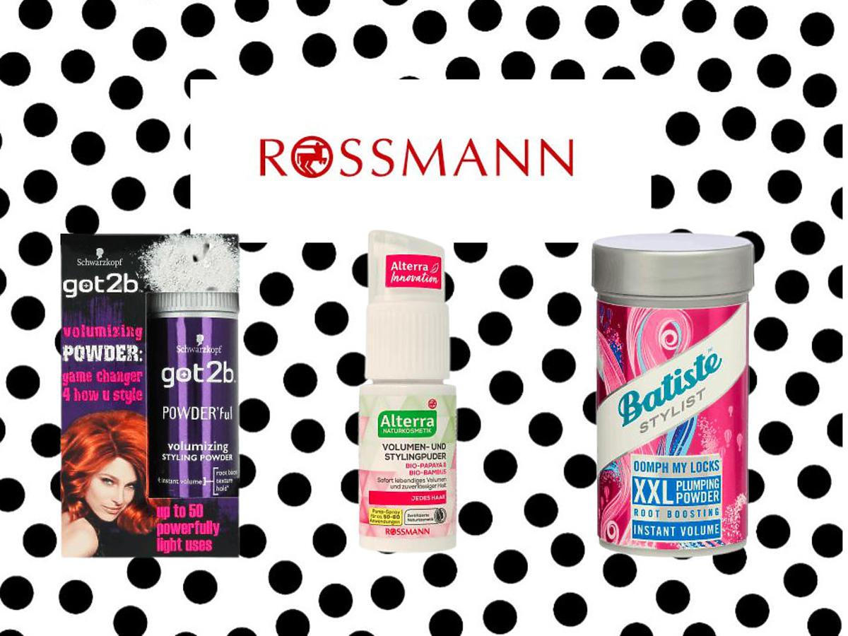 Pudry do włosów z Rossmanna