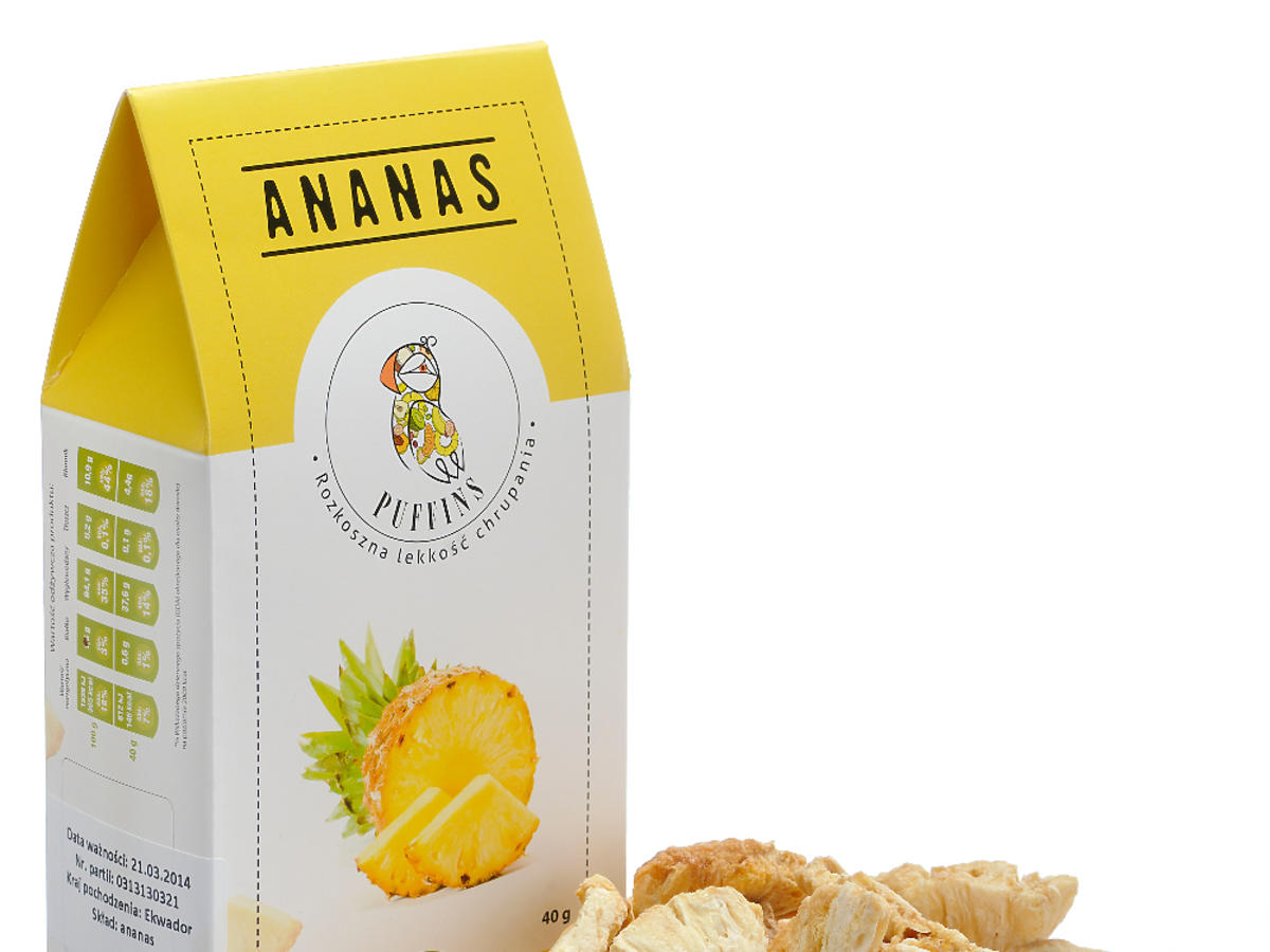 puffins ananas